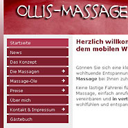 Website Ollis-Massge-Service.de